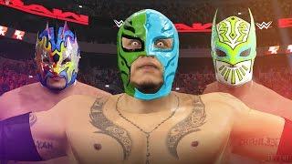 getlinkyoutube.com-WWE MODS | TOP 5 MODDED FACTIONS & SUPER TEAMS ⚡