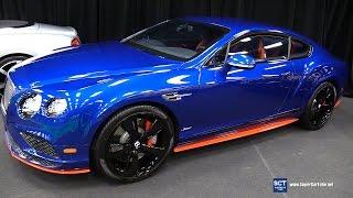 getlinkyoutube.com-2017 Bentley Continental GT Speed - Exterior and Interior Walkaround - 2017 Montreal Auto Show