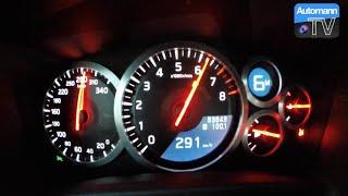 getlinkyoutube.com-2012 Nissan GTR (560hp) - 0-291 km/h acceleration (60FPS)