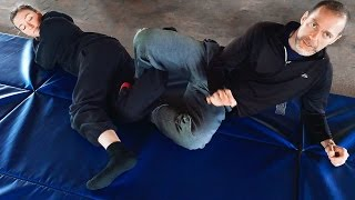 Silat Takedown Technique and Leg Crushing/ Binding  - CJKD