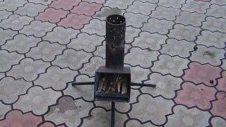 Походная печь Робинзон. Хозяйство Кулешова В.И