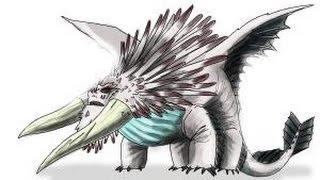 getlinkyoutube.com-How to Draw Bewilderbeast from How to Train Your Dragon 2
