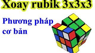 getlinkyoutube.com-Hướng dẫn giải rubik 3x3x3 - Phương pháp cơ bản