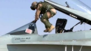 getlinkyoutube.com-F/A-18 & F-16 Pilots & Aircrews - Scramble Competition
