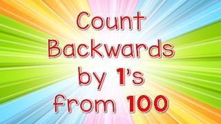 getlinkyoutube.com-Count Backwards By 1s From 100 | Jack Hartmann