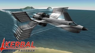 getlinkyoutube.com-Flying In 10 Times Gravity | Stock Kerbal Space Program