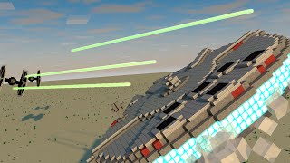 getlinkyoutube.com-Star Wars VII The Force Awakes Animated! (Minecraft Animation)