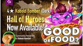 getlinkyoutube.com-SUMMONERS WAR : Bering the Dark Kobold Bomber Hall of Heroes - Good or Food?