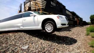 getlinkyoutube.com-Amazing Limo vs Train Crash Elkhart County