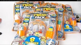 getlinkyoutube.com-HUGE UNBOXING 6 Trash Pack Series 2 Dunk & Fizz bags ULTRA RARE TRASHIES - CLEARANCE at TARGET!