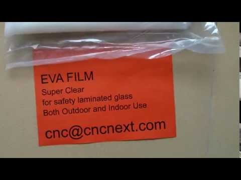 EVA, ethylene vinyl acetate, Interlayer For Glass And Plastic Sheet Lamination Without Autoclaving