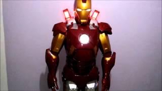 getlinkyoutube.com-Armadura Homem de Ferro Mark 7  Iron Man Armor Mark VII
