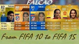 getlinkyoutube.com-Falcao Ultimate Team Cards from FIFA 10 to FIFA 15