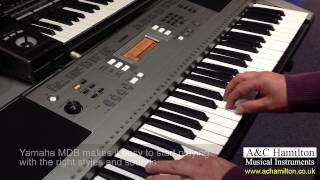 getlinkyoutube.com-Yamaha PSR-E353 Keyboard Demo - A&C Hamilton