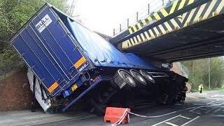 getlinkyoutube.com-FAIL | Truck Crash Compilation 2015 | FailArmy Crashes