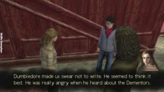 Harry Potter and The Order of Phoenix PSP Gameplay