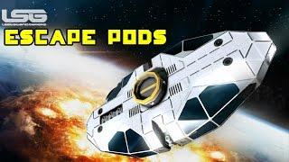getlinkyoutube.com-Space Engineers - Escape Pods, Abandon Ship Protocol Concept