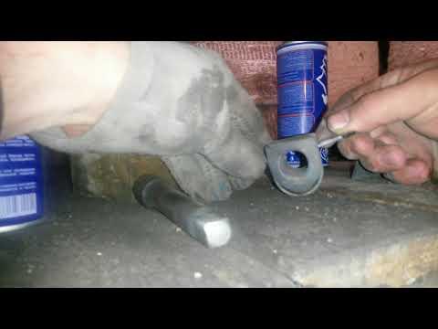 Toyota Camry 40/Задняя подвеска/Устранение стука втулки стабилизатора