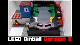 getlinkyoutube.com-Lego Pinball Maschine V2