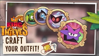 getlinkyoutube.com-King of Thieves: Outfits
