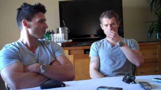 getlinkyoutube.com-Frank Grillo & James Badge Dale Part 1-The Grey Round Tables-Spoiler