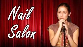 getlinkyoutube.com-Anjelah Johnson - Nail Salon (Stand Up Comedy)