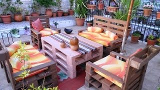 getlinkyoutube.com-Creative Ways To Recycle Wooden Pallets over 200 ideas