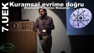 Ozan Kıratlı: Kuramsal evrime doğru – Biyolojide Hamilton mekaniği