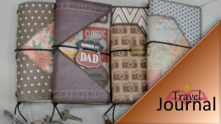getlinkyoutube.com-Traveller's Notebook or Journal - Midori / Fauxdori Sty
