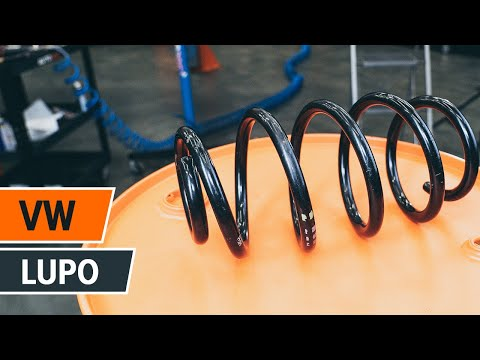 Как да сменим предна пружина за ходовата част на VW LUPO ИНСТРУКЦИЯ | AUTODOC