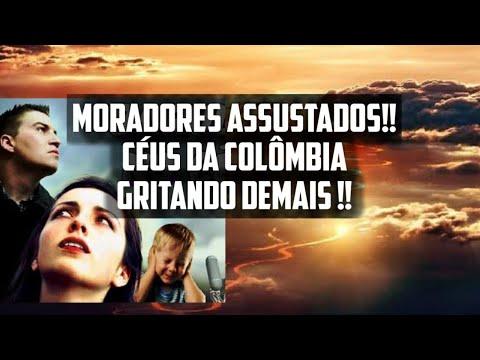 Sons assustadores nos Céus da América do Sul, assusta moradores novamente