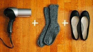 getlinkyoutube.com-Como agrandar zapatos apretados - 2 Remedios faciles