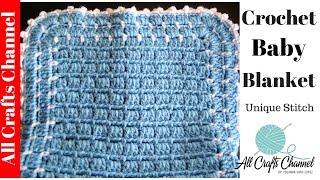 getlinkyoutube.com-Easy to Crochet Blanket - UNIQUE look - Yolanda Soto Lopez