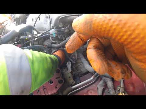 Как поменять стартер Toyota Avensis/How to change the starter of Toyota Avensis?