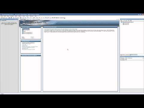 Visual Basic Express 2008/2010 Basic Login Form Tutorial