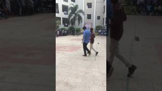 Bittu dance in Ecta fest 2k17 tkr college