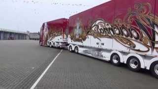 getlinkyoutube.com-Scania R560 Madonna uit Finland winnaar bij Truckstar festival