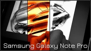 getlinkyoutube.com-Samsung Galaxy Note Pro | drawing test