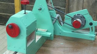 Токарный станок своими руками Part 2/3. The homemade lathe