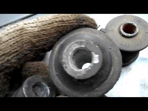 Лифан мини,убираю люфт заднего сайленблока продольной тяги