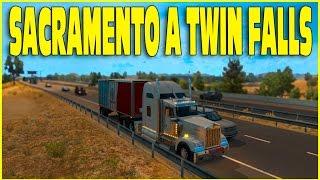getlinkyoutube.com-American Truck Simulator - Sacramento á  Twin Falls - G27