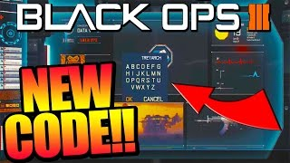 "getlinkyoutube.com-Black Ops 3: NEW CODE FOUND! Data Vault ""SECRET HIDDEN MENU"" (BO3 Easter Eggs)"