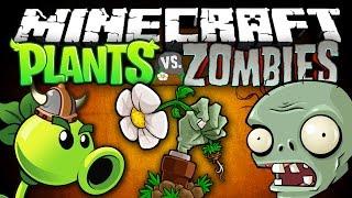 getlinkyoutube.com-PLANTS VS ZOMBIES В МАЙНКРАФТ | Зомби против Растений (Обзор Модов #79)