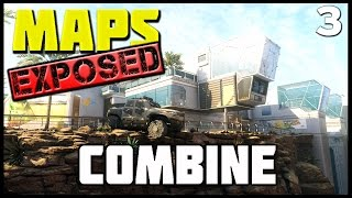 getlinkyoutube.com-Ep. 3 - Combine | BO3 Maps Exposed! (Lines of Sight, Wallruns, and Spots)