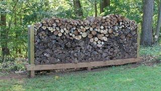 getlinkyoutube.com-How to build, make a  Log Rack by Jon Peters