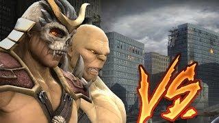 getlinkyoutube.com-Mortal Kombat Komplete BOSS Tag Ladder  SHAO KAHN, GORO