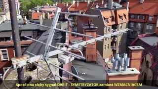 getlinkyoutube.com-DVB-T Sposób Na Słaby Sygnał TVP1 z MUX - SYMETRYZATOR zamiast WZMACNIACZA