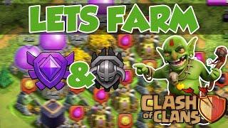 getlinkyoutube.com-Clash of Clans | Lets Farm | Lohnt sich der Liga Bonus? | [Deutsch/German]