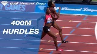 Shamier Little 53.95 Wins Women's 400m Hurdles - IAAF Diamond League London 2018