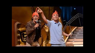 getlinkyoutube.com-Otto Waalkes und Mirco Nontschew musizieren mit Raab - TV total